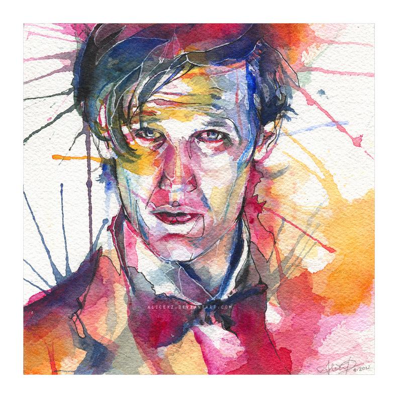Eleven (watercolor)