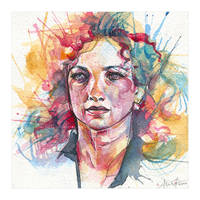 River (watercolor) by alicexz