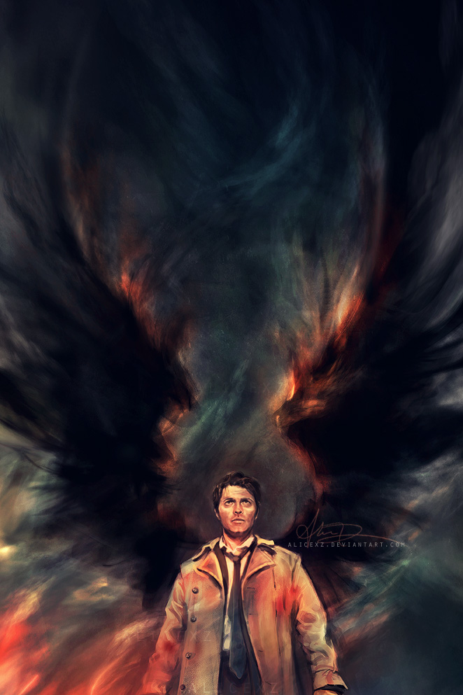 Castiel By Alicexz On Deviantart