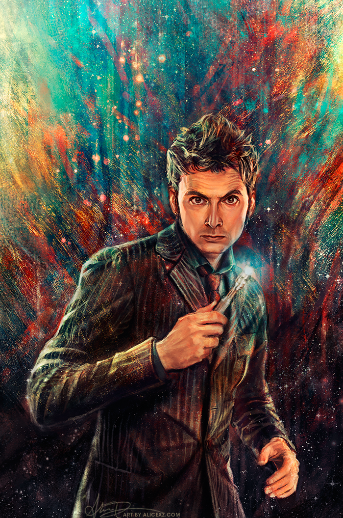 Doctor Who The Tenth By Alicexz