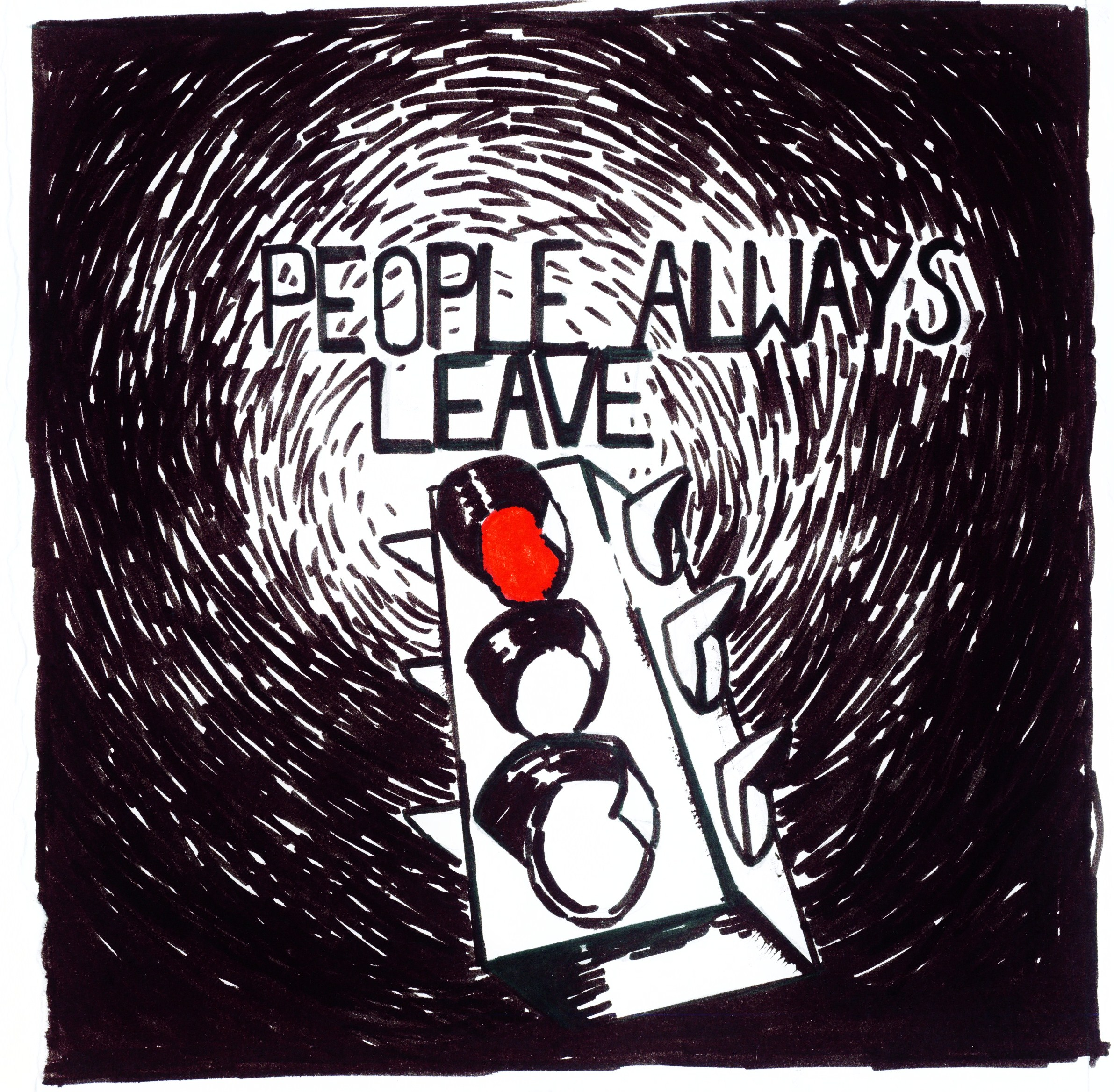 One Tree Hill Peyton Drawings They Are Not You People Always Leave by...