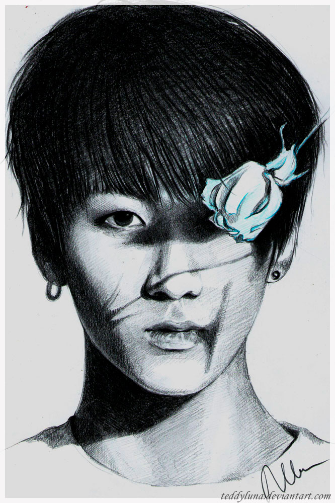 Jungkook Bts Drawings: JUNG KOOK (BTS) By TeddyLuna On DeviantArt
