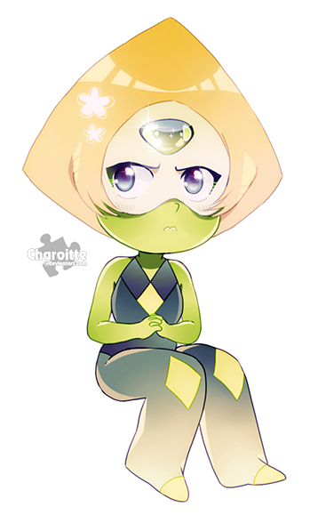 Peridot from Steven Universe Open for commissions! Please, check out the information here. Commission: OPENChibi 15 USD or 1500 [3-4 hours of work, because I'm a snail] Pe...