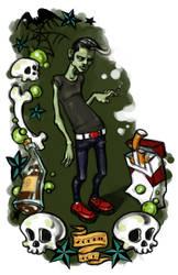 Zombie Boy by MilkshakePunch