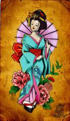 Geisha by MilkshakePunch