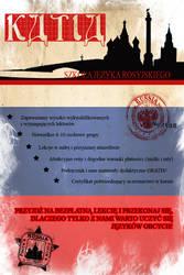 Language School Leaflet by MilkshakePunch