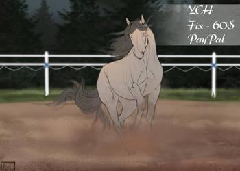 34. Horse YCH [OPEN] by Rin-ki