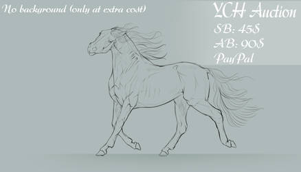 36. Horse YCH [OPEN] by Rin-ki