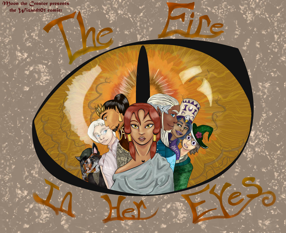 Wizard101: The Fire in Her Eyes by Moon-the-Creator on DeviantArt