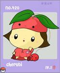 Gijinka Cherubi by aquabluu