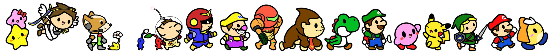 Nintendo March by aquabluu