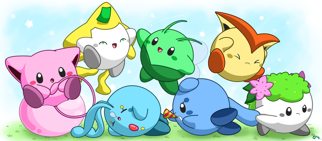 Legendary Kirbys by aquabluu
