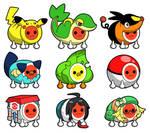 Taiko Drum Master Pokemon costumes