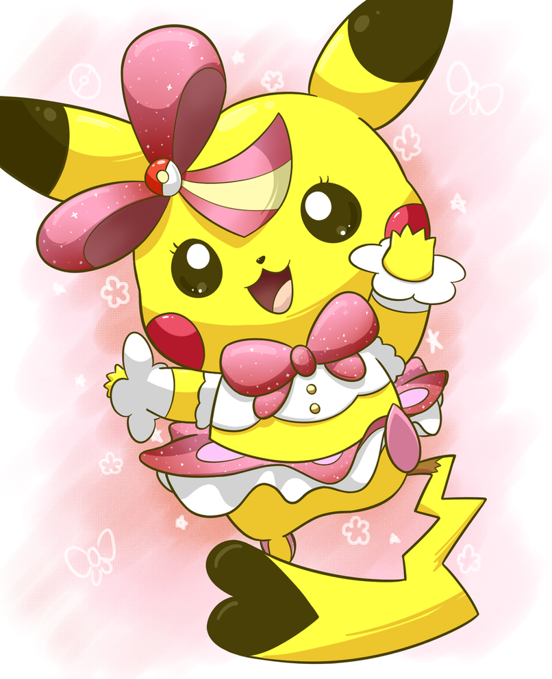 Pokemon Coloring Pages Pikachu Popstar