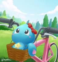 Basket by aquabluu