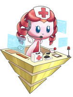 Robo-nurse by aquabluu