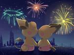 (Commission) New Year Romantic at Penang by aquabluu