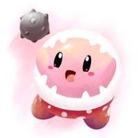Piranha Plant Kirby by aquabluu
