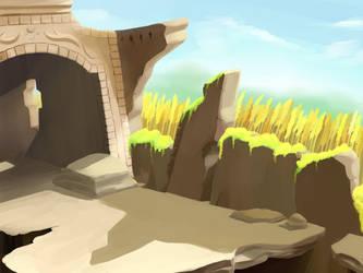 Ruins by aquabluu