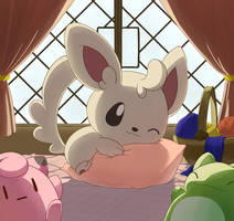 Favorite Pillow by aquabluu