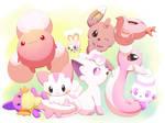 Shiny Pink by aquabluu
