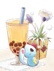 Bubble Tea by aquabluu