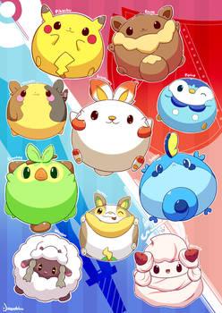 Pokemon Gen 8 Poster