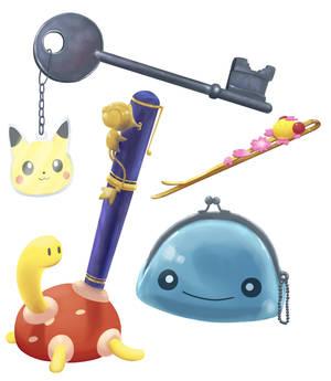 Object practice (Pokemon)