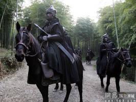 Knight in japan by chavi-dragon