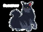 Flamepaw design - Warriors Cats