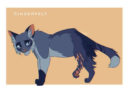 Cinderpelt design - Warriors Cats