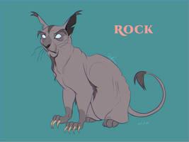 Rock design - Warriors Cats