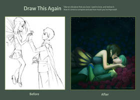 Improvement 2009 to 2012 - Garden of Dreaming by lyseeart