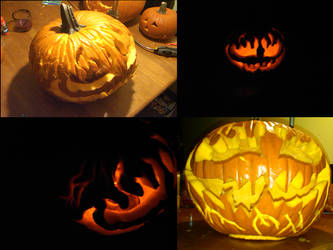 Pumkin Carving 2010 by Sylvlance