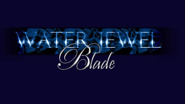 Water Jewel Blade Logo by Crezda
