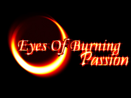 Eyes of burning passion Logo by Crezda