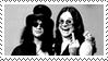 Slash And Ozzy stamp by Francyssa