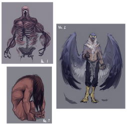 Demi-gods Batch - Designs - Taking Offers **OPEN** by Awkwardos