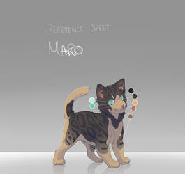 Maro [Reference Sheet] by Awkwardos