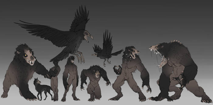 Beast forms