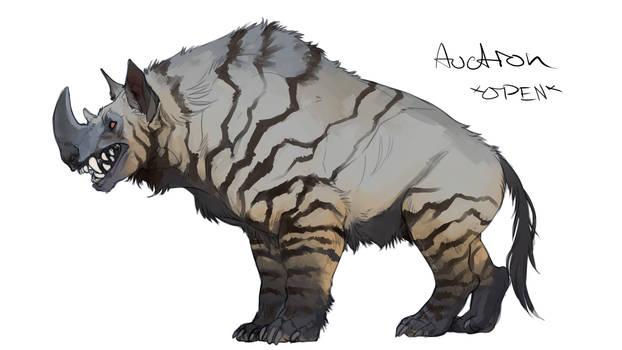 Rhino Hyena Adopt Auction *OPEN*