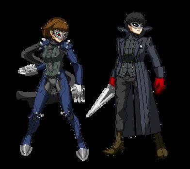 Persona 5 pixel Art