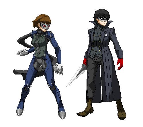 Persona 5 Pixel Art By Kollp On Deviantart