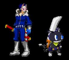 Persona 5 pixel no.3 by kollp