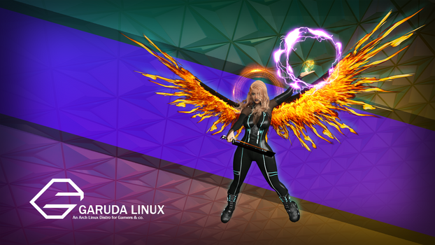 Garuda Linux Wallpaper