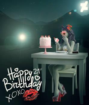 DA's 21st Cake-day!