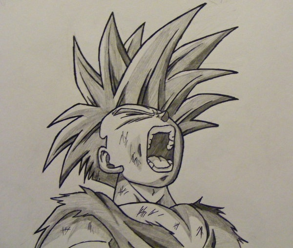 Dragon Ball Z Goku Drawings