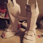 Iron Man Shins/Boot Pieces