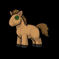 [F] Plush pony by freyaswoman