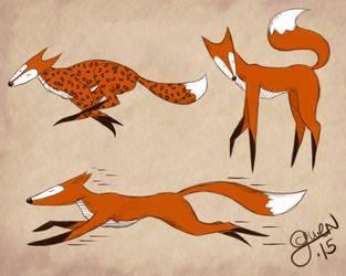 Long Fox by Gwenonwyn